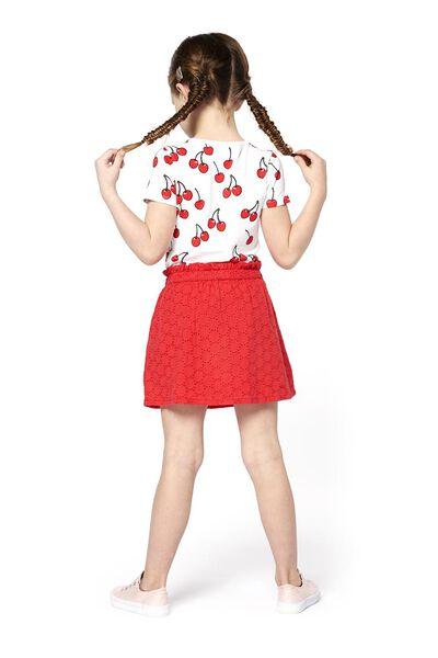 kinder t-shirt wit wit - 1000018345 - HEMA