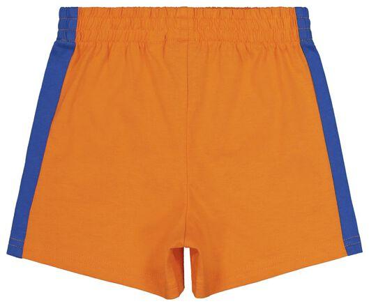 EK voetbal baby t-shirt en short oranje oranje - 1000019566 - HEMA