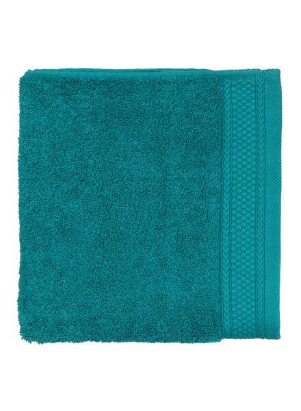 handdoek - 50 x 100 cm - hotel extra zwaar - donkergroen uni - 5240045 - HEMA