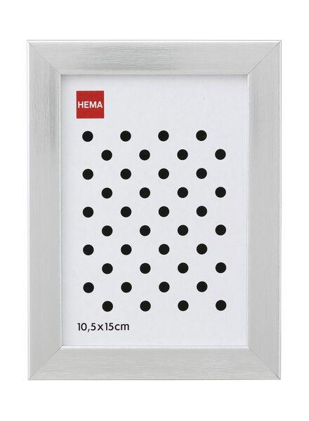 fotolijst 10.5 x 15 cm 10 x 15 aluminium - 13680034 - HEMA