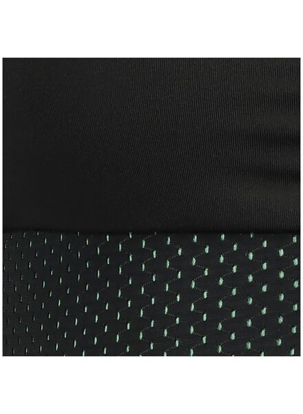 dames sporttop - medium support zwart zwart - 1000013887 - HEMA