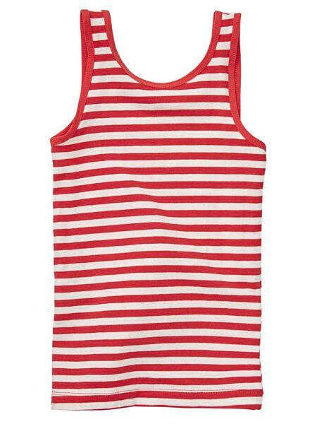 2-pak kinderhemden rood rood - 1000012896 - HEMA