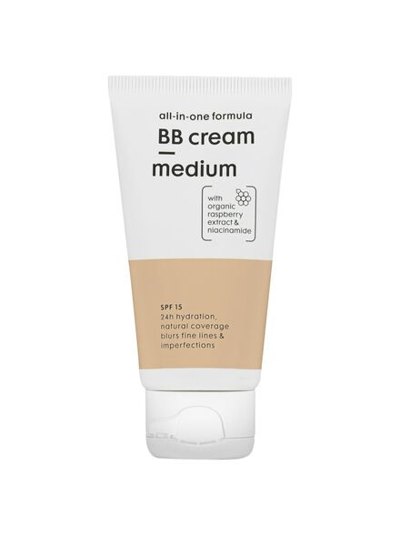 alles-in-één BB crème SPF 15 medium - 17870081 - HEMA