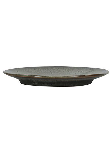 gebaksbord - 16.5 cm - Porto - reactief glazuur - taupe - 9602051 - HEMA