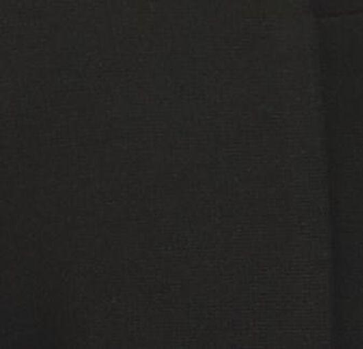 kindertregging met bies zwart zwart - 1000019941 - HEMA