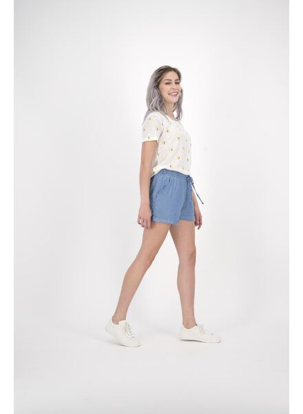 dames t-shirt wit wit - 1000013593 - HEMA
