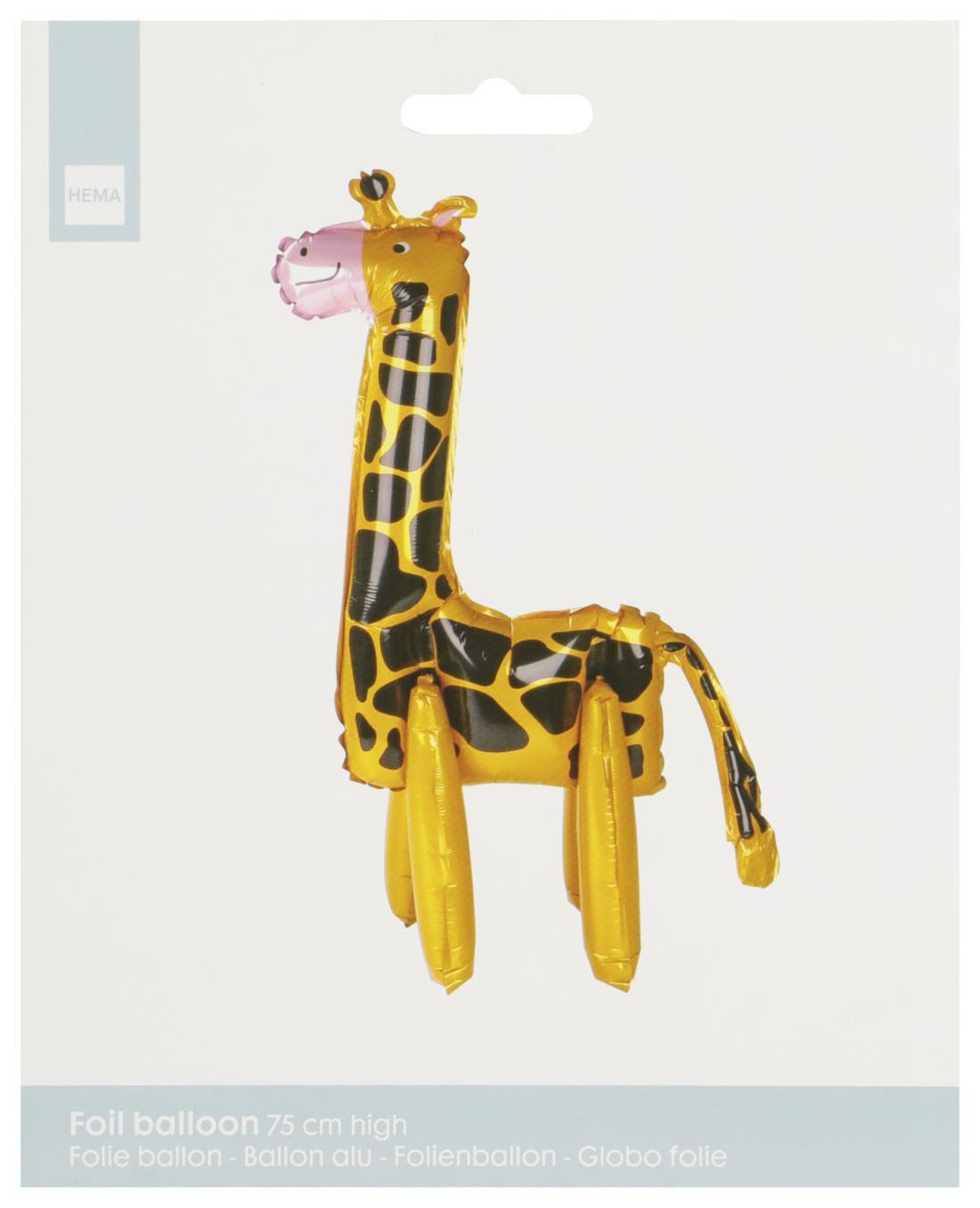HEMA Folieballon Giraffe 75 Cm