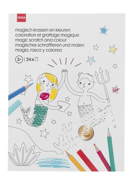 magisch tekenboek - 15910089 - HEMA
