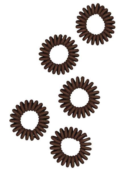 spiraal elastiekjes 5 stuks - 11870119 - HEMA