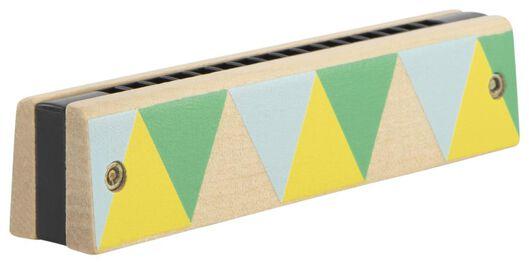 mondharmonica hout 3x13x2.4 - 15130081 - HEMA