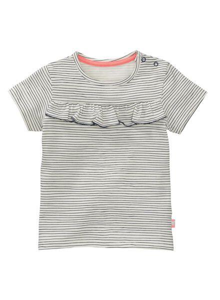 baby t-shirt gebroken wit - 1000007208 - HEMA