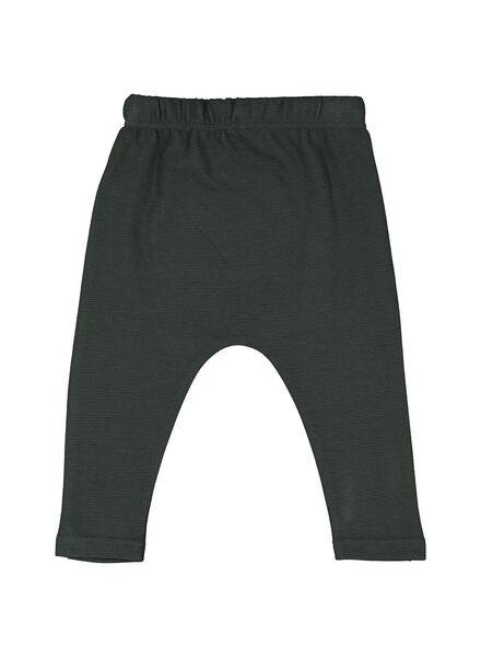 baby sweatbroek groen groen - 1000014375 - HEMA