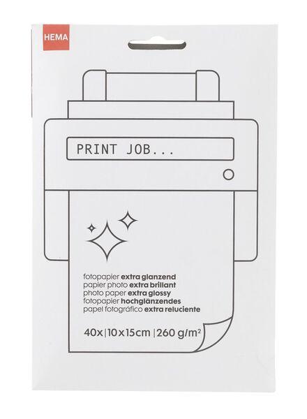 glossy fotopapier - 38340081 - HEMA