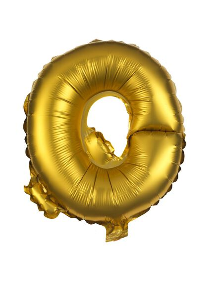 folieballon Q - goud - 60800490 - HEMA