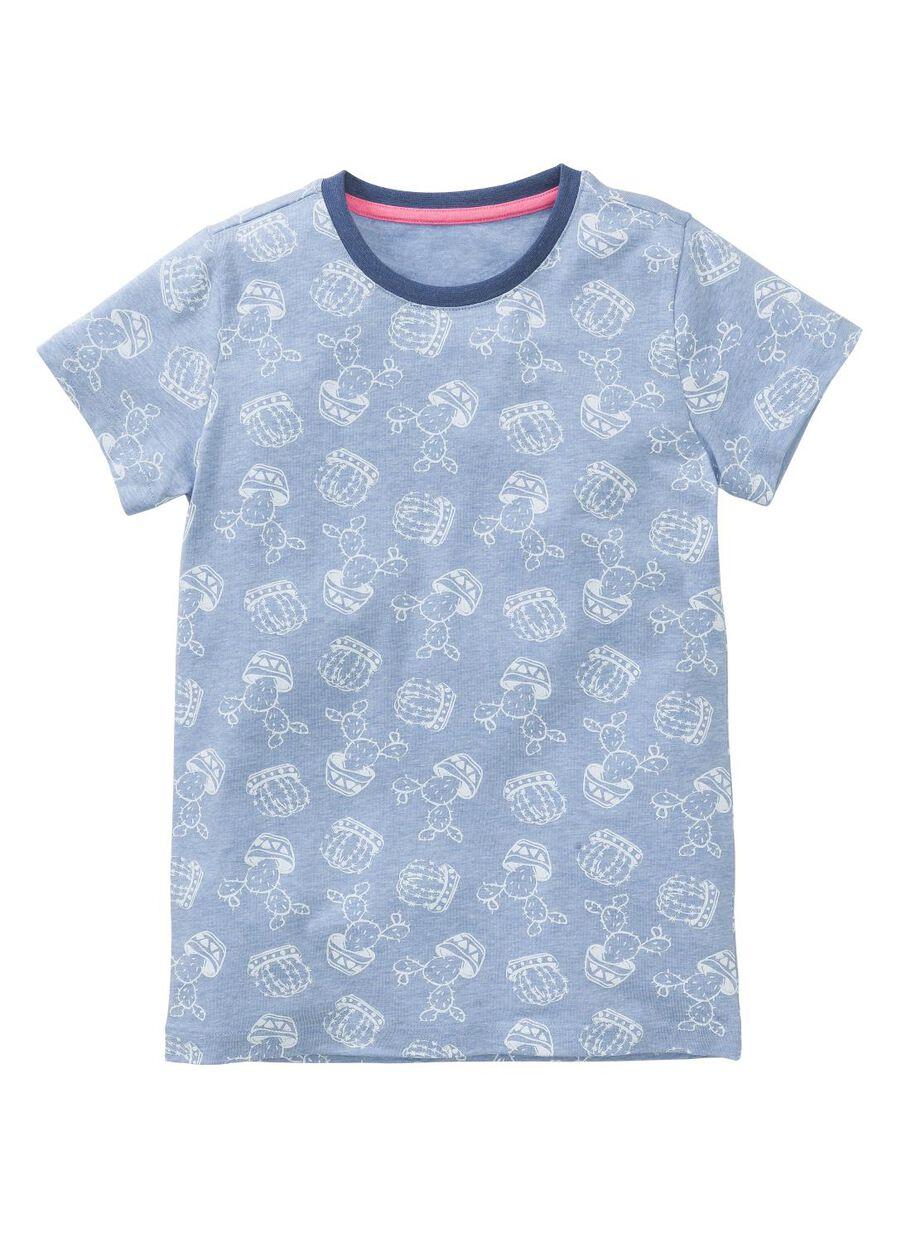 ec1b9ab8ae2 meisjes pyjama middenblauw - HEMA