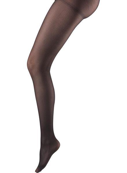 damespanty zwart 44/46 - 4090043 - HEMA