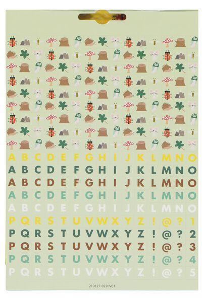 stickerboek bos - 15970040 - HEMA