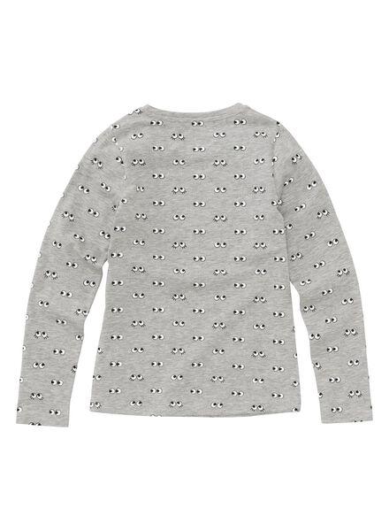 kinder t-shirt middengrijs middengrijs - 1000003068 - HEMA