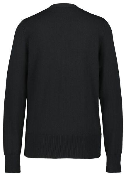 damesvest zwart XL - 36344789 - HEMA
