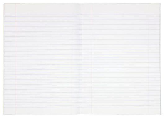 schriften A4 gelinieerd - 5 stuks - 14590418 - HEMA