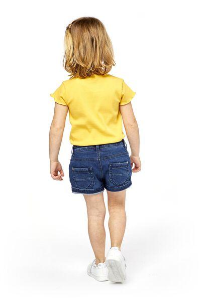 kindershort donkerdenim donkerdenim - 1000019006 - HEMA