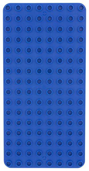 bio bouwplaat blauw - 15120048 - HEMA