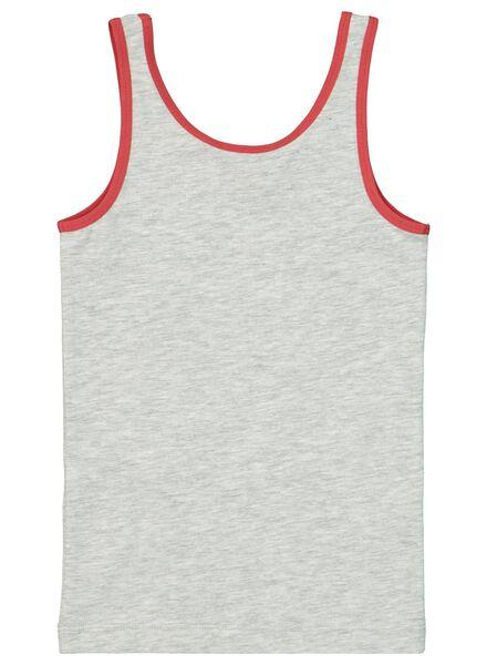 2-pak kinderhemden grijsmelange - 1000016864 - HEMA