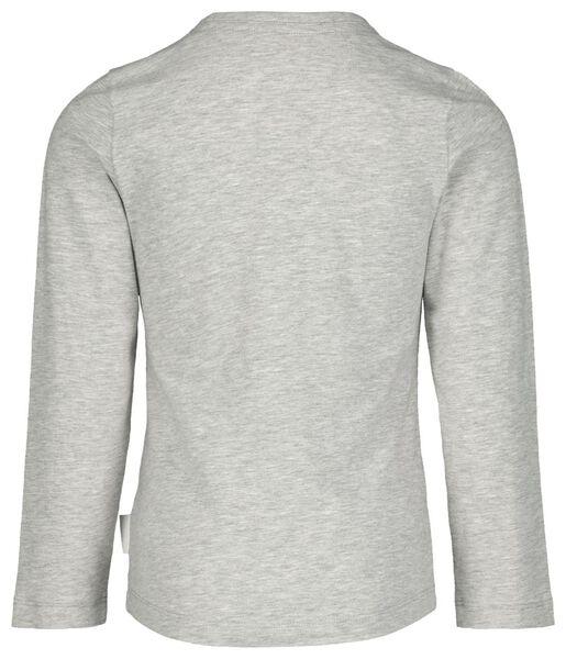 kinderpyjama takkie grijsmelange grijsmelange - 1000020648 - HEMA