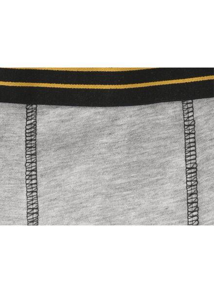 2-pak kinderboxers grijsmelange grijsmelange - 1000009763 - HEMA