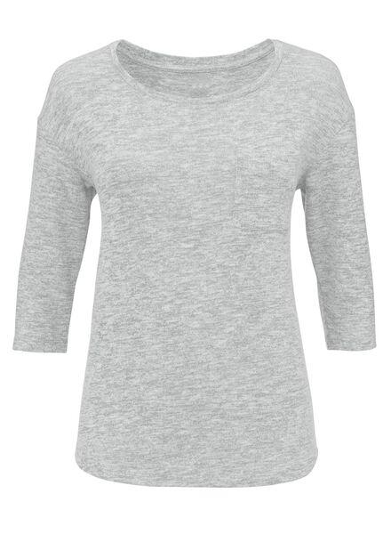 dames t-shirt lichtgroen lichtgroen - 1000004901 - HEMA