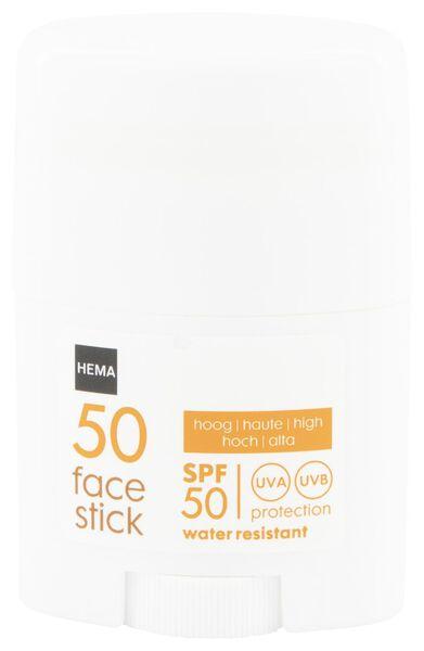 face stick SPF 50 - 25 gram - 11610180 - HEMA
