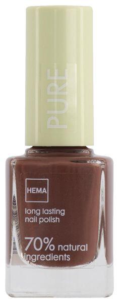 pure longlasting nagellak 239 brandy brown - 11240239 - HEMA