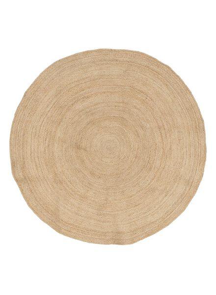 tapijt jute 180 cm naturel - 13091004 - HEMA