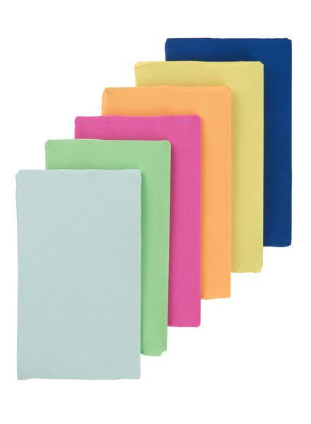 6-pak rekbare boekenkaften - 14522234 - HEMA