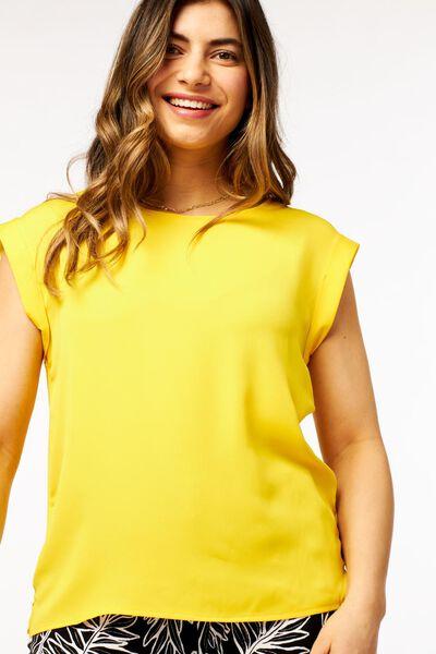 dames top geel geel - 1000023957 - HEMA