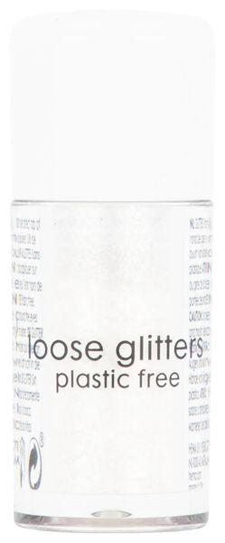losse glitters - white - 3 gram - 11200052 - HEMA