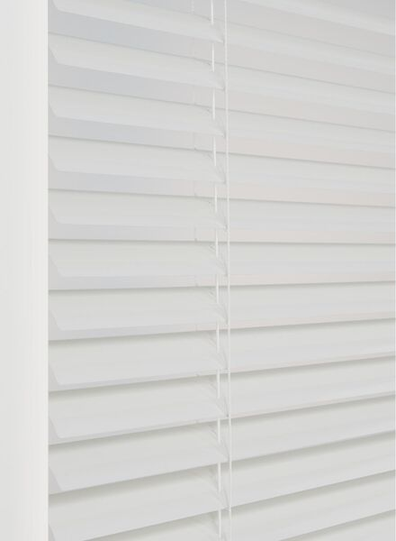 jaloezie aluminium zijdeglans 50 mm - 7420040 - HEMA