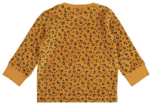 babypyjama velours dieren bruin - 1000020004 - HEMA