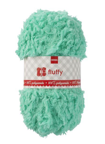 breigaren fluffy - 50g fluffy mintgroen - 1400181 - HEMA