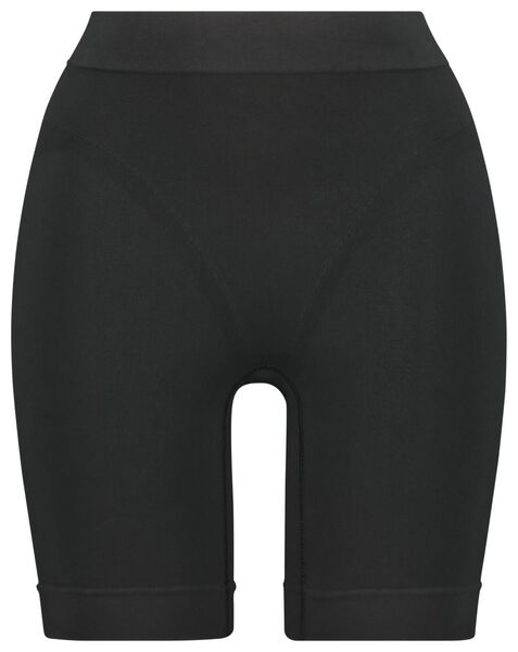 damesbiker firm control zwart zwart - 1000020940 - HEMA