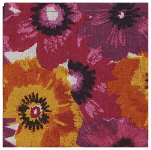 theedoek 65x65 bloemen - 5490044 - HEMA
