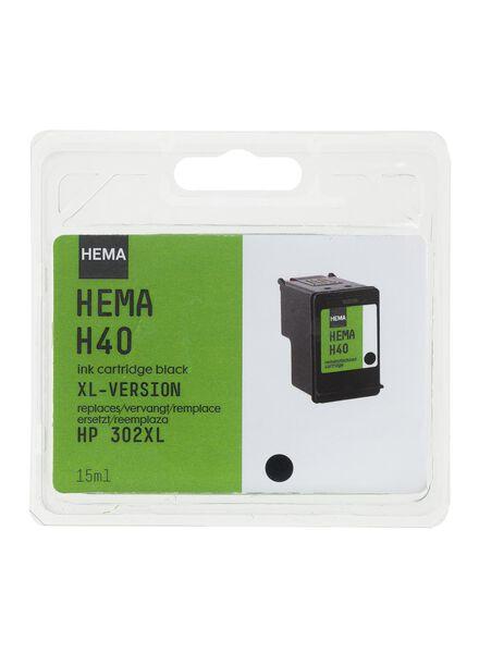 H40 vervangt de HP 302XL - 38320001 - HEMA