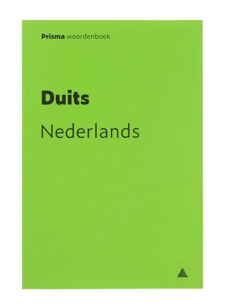 prisma woordenboek Duits-Nederlands - 14910135 - HEMA