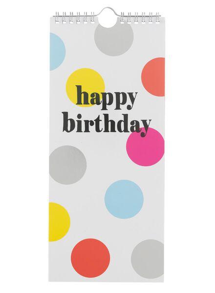 verjaardagskalender - 14133351 - HEMA