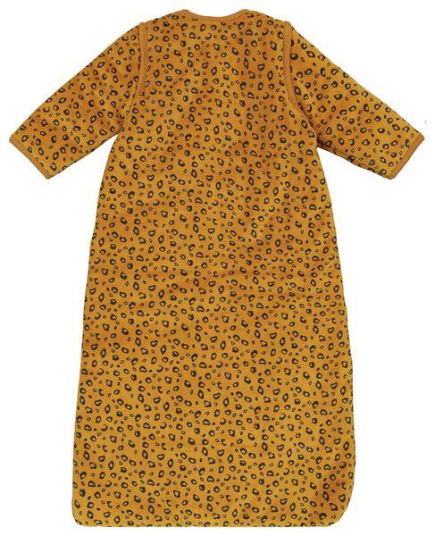 babyslaapzak - padded - afritsmouw - dieren bruin - 1000019995 - HEMA