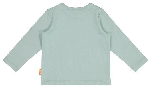 newborn t-shirt blauw blauw - 1000017652 - HEMA