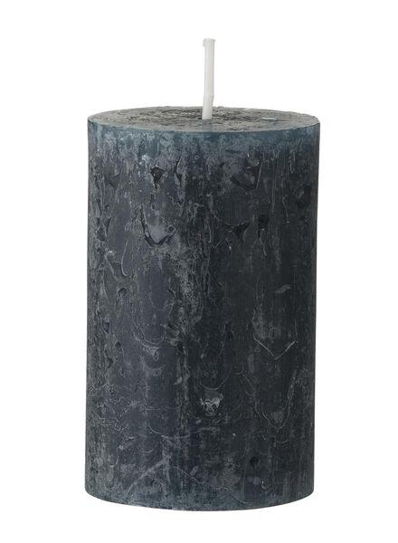 rustieke kaarsen donkergroen donkergroen - 1000015401 - HEMA