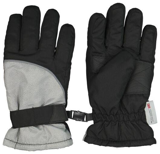 kinderhandschoenen zwart zwart - 1000020552 - HEMA