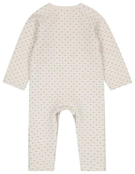 newborn jumpsuit wit 50 - 33438131 - HEMA