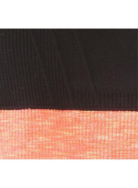 tiener sport top naadloos zwart zwart - 1000002571 - HEMA